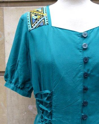 Vestido de Sedad 80's Estilo Medieval