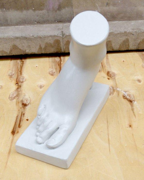 Pie - Antiguo Modelo Anatomico de Dibujo