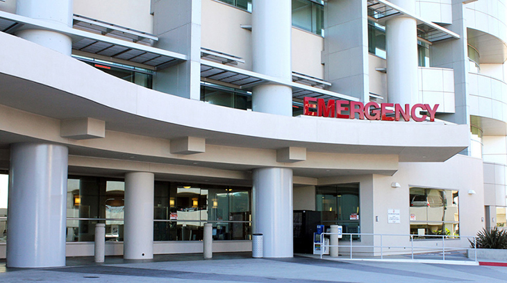Grossmont hospital la mesa emergency entrance