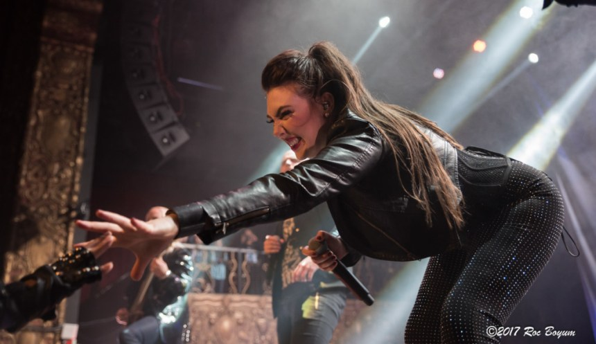 Amaranthe Belasco Theatr Los Angeles