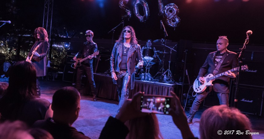 Stephen Pearcy BLK Live Phoenix AZ New Years Eve 2017