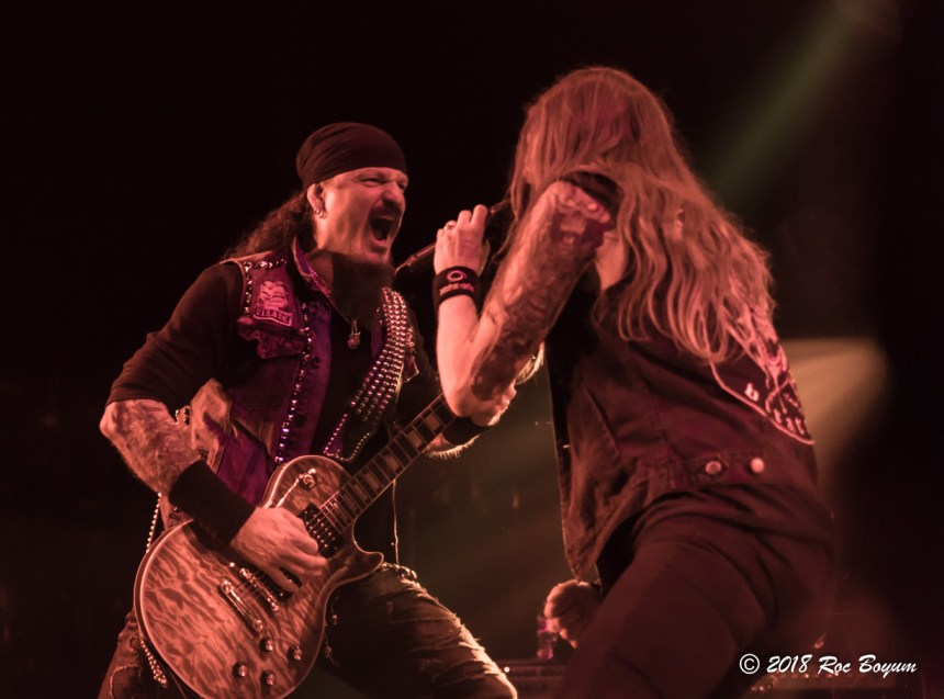 Iced Earth Jon Schaffer Stu Block Belasco Theater Concert Reviews
