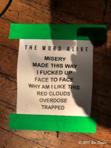 The Word Alive Concert Reviews metalcore