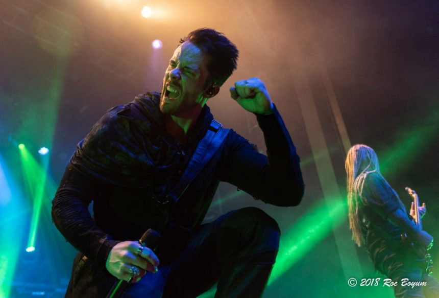 Kamelot Tommy Karevik Grove Anaheim Concert Photography Concert Reviews