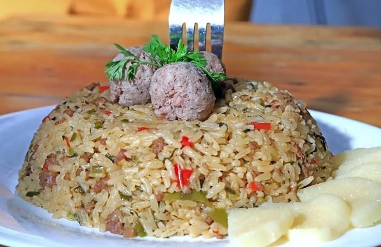 arroz de butifarra