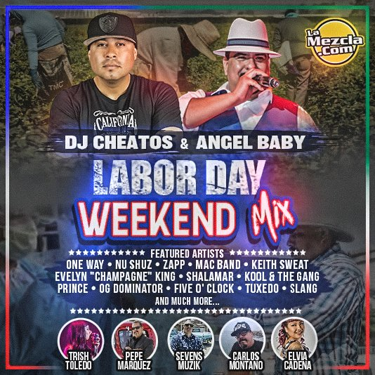 DJ Cheatos & Angel Baby - Labor Day Weekend Mix