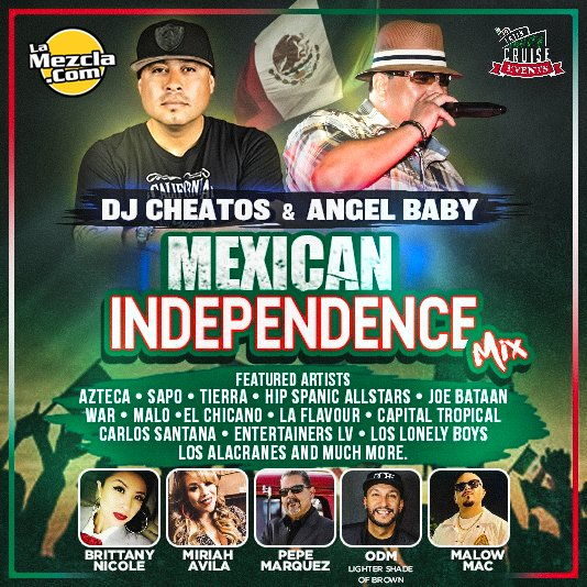 DJ Cheatos & Angel Baby - Mexican Independence Day Mix