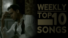 Romeo Santos Top Ten Banner