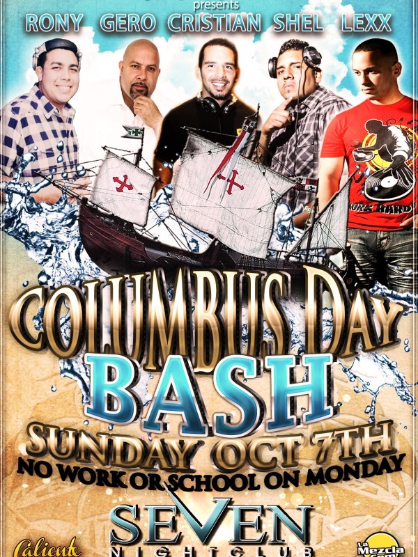 Columbus Day Party at Seven Nightclub 10.7.12