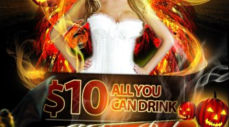 $10 All You Can Drink Halloween Bash @ Suggars Nightclub 10.27.12