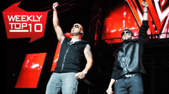Wisin Y Yandel Top Ten 10-22-12