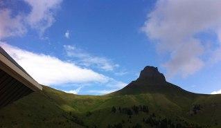 Innamorata della montagna