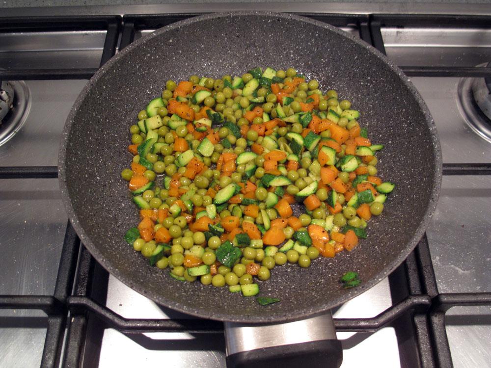 Couscous, preparazione verdure