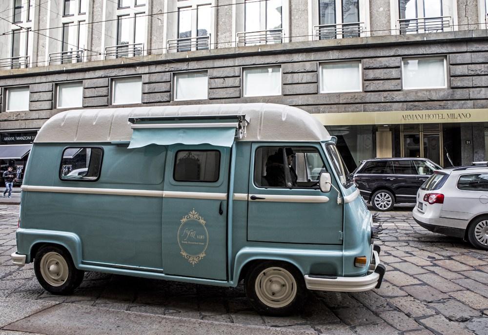 Il Frù Frù Van a Milano