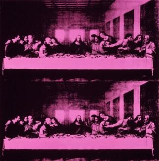 Andy Warhol, The Last Supper, acrilico su tela