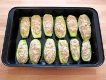 Zucchine ripiene alla ligure