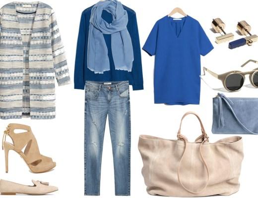 Shopping in blu