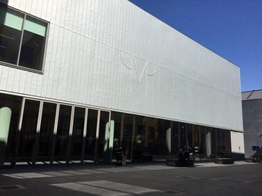 MUDEC, edificio esterno