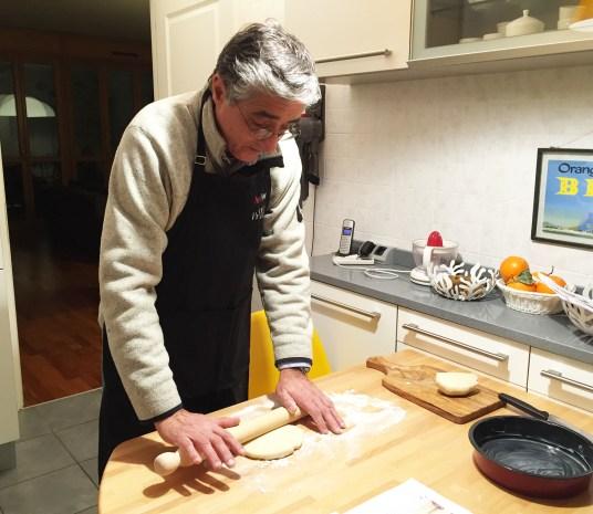 La torta di mele, preparazione
