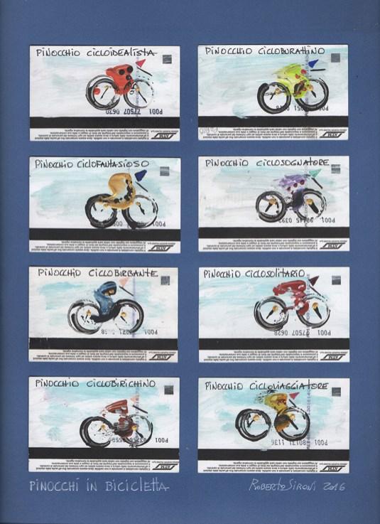 Ciclosfuso, bici e vino