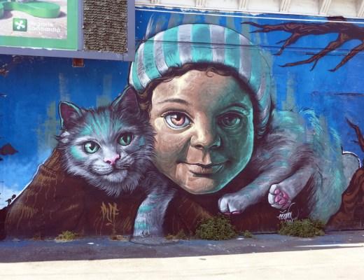 Street Art sul Naviglio Grande