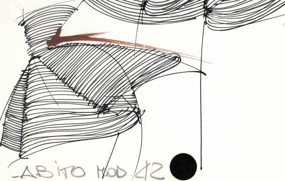 A Cremona la mostra dei disegni di Gianfranco FerrŽe