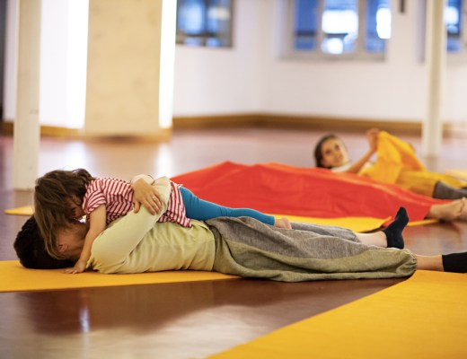 A Milano Yogafestival Bimbi