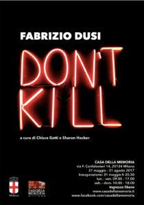 Don't Kill di Fabrizio Dusi