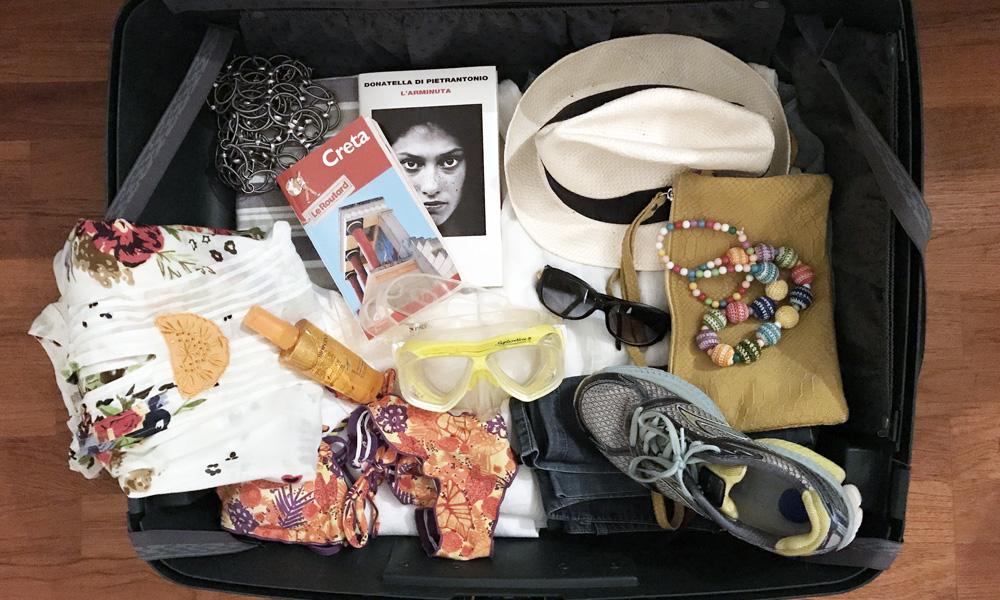 La valigia per le vacanze
