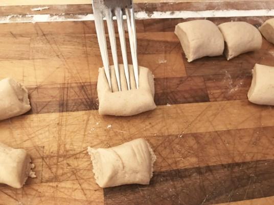 Gnocchi di farina di castagne