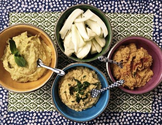 Tris di Hummus