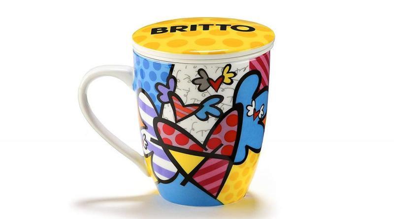 Romero Britto style