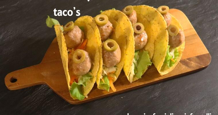 Halloween taco's