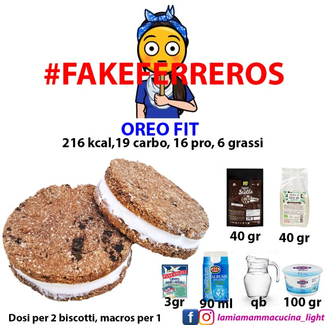 fakeferreros OREO FIT