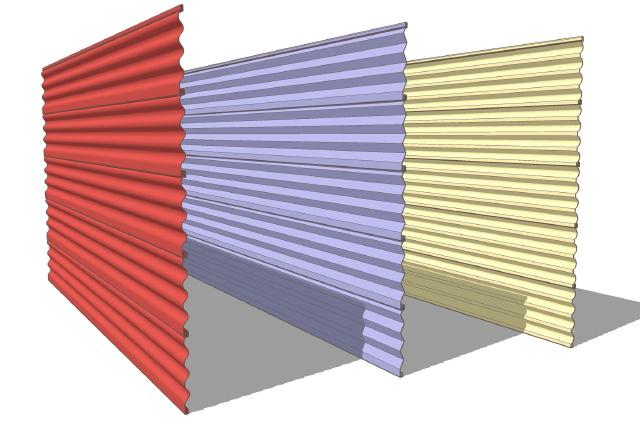 Modern House Plans by Gregory La Vardera Architect: June 2006 on Modern Vinyl Siding  id=59294