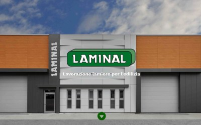 Nuovo sito Laminal srl