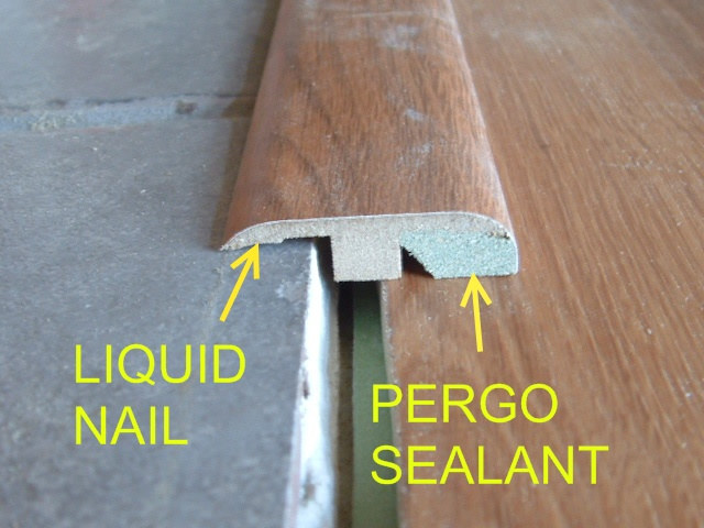 transition from ceramic tile to laminate