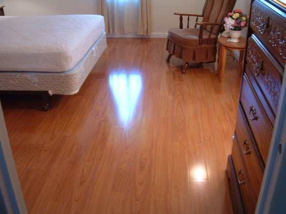 Latest Project  Vanier Laminate  Tampa Bay This is the AFTER photo with the Vanier laminate flooring installed