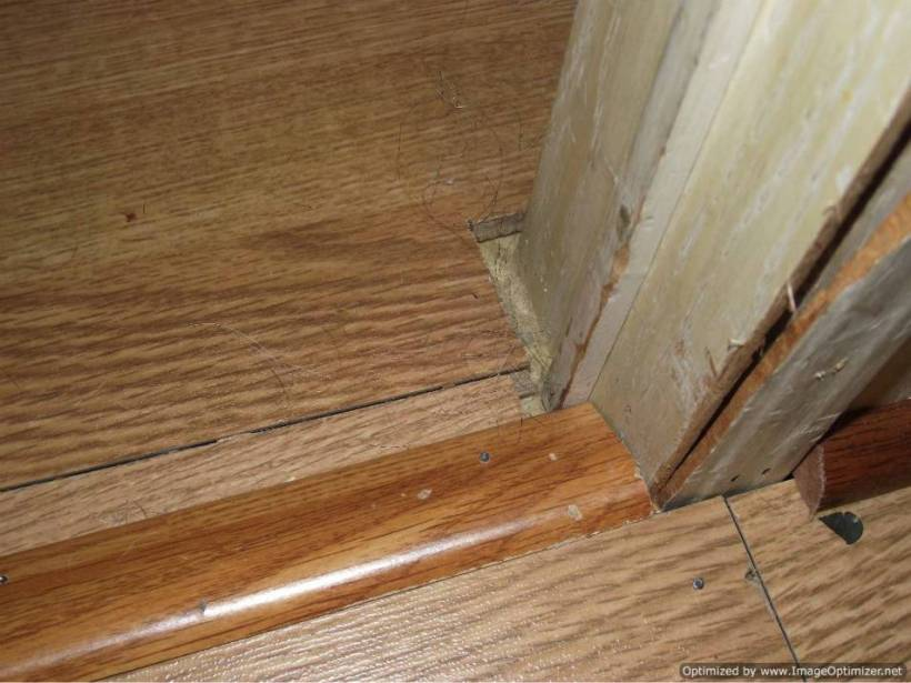 How To Install Wood Floor Around Door Frames Nakanak Org