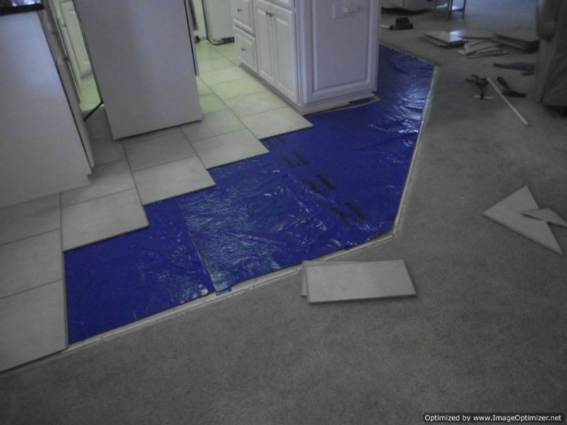 Nirvana Plus Laminate Review Before photo of Nirvana V groove laminate flooring installation