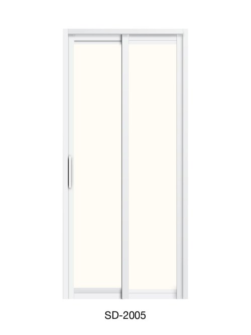 PVC Slide & Swing Toilet Door SD-2005