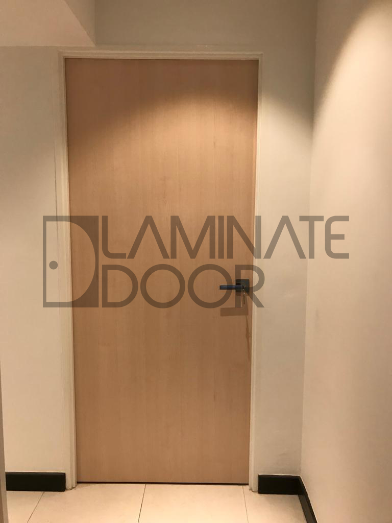 Bedroom door designs in wood For HDB in singapore