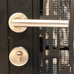 Modern handle for front door