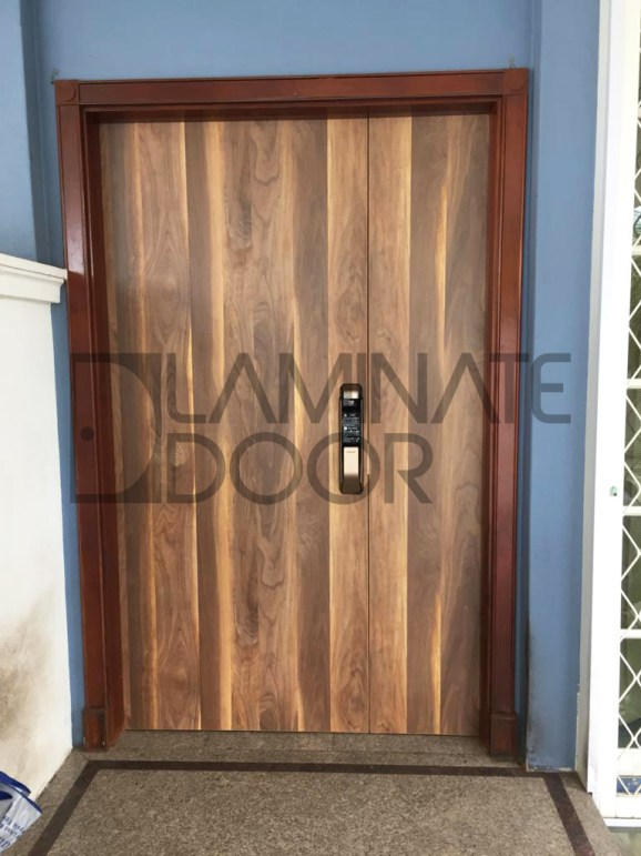 luxury laminate fire rated main door
