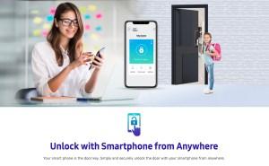 Samsung-SHP-DP609-digital-door-lock-function
