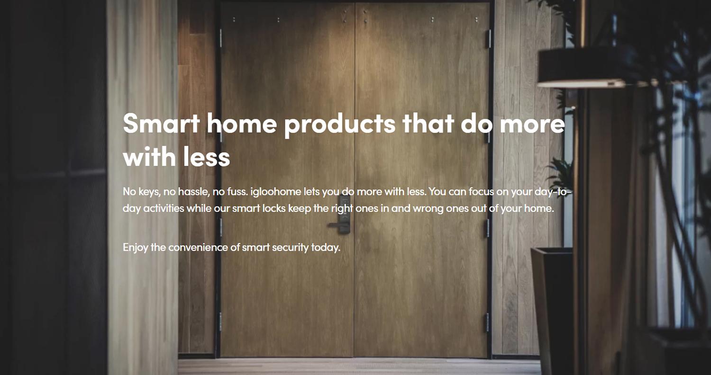 igloohome-smart-digital-door-lock-front-page