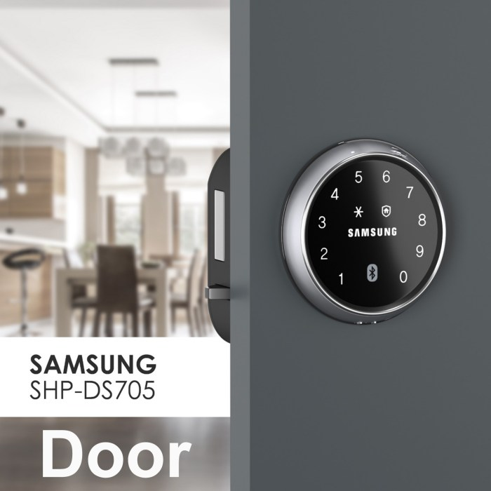 Samsung SHP-DS705G Digital Door Lock