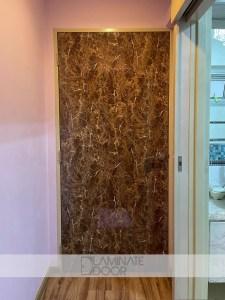 Marble Design Laminate Bedroom Door