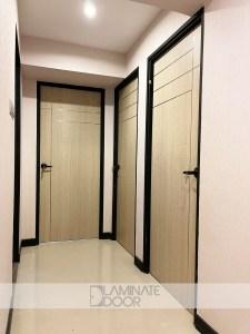 Stainless Steel Design 3 Bedroom Doors
