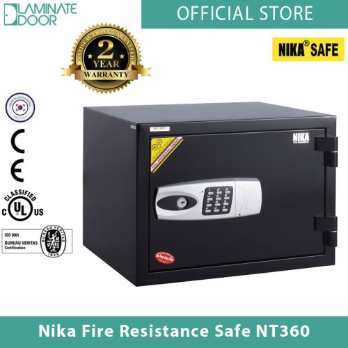 Nika Fire Resistance Safe NT360 black 1